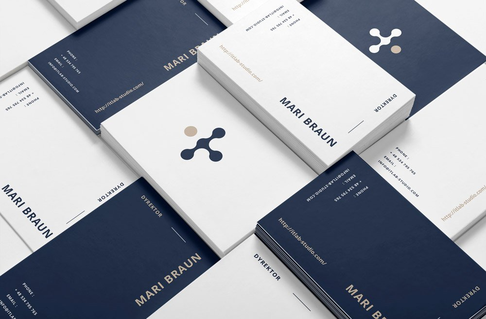 Design business cards for companies Krakow