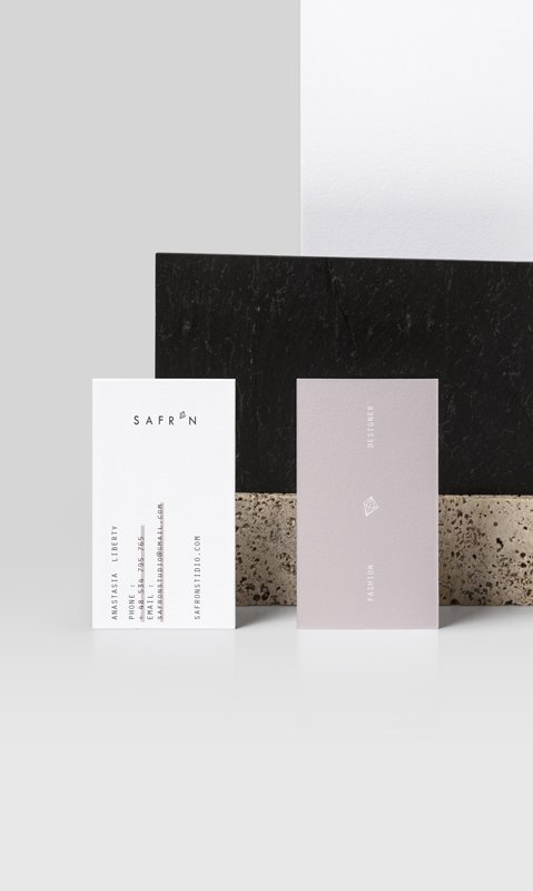 Business cards design - Valido Architects