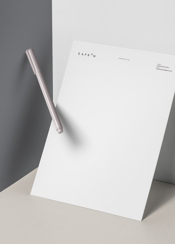 Letterhead Design - Valido Architects