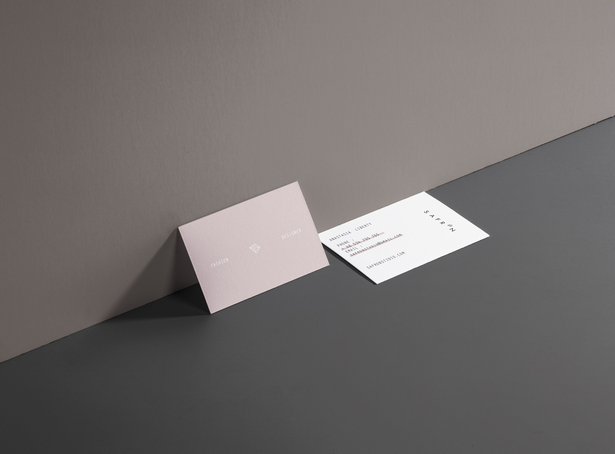 Business card design - Valido Architects