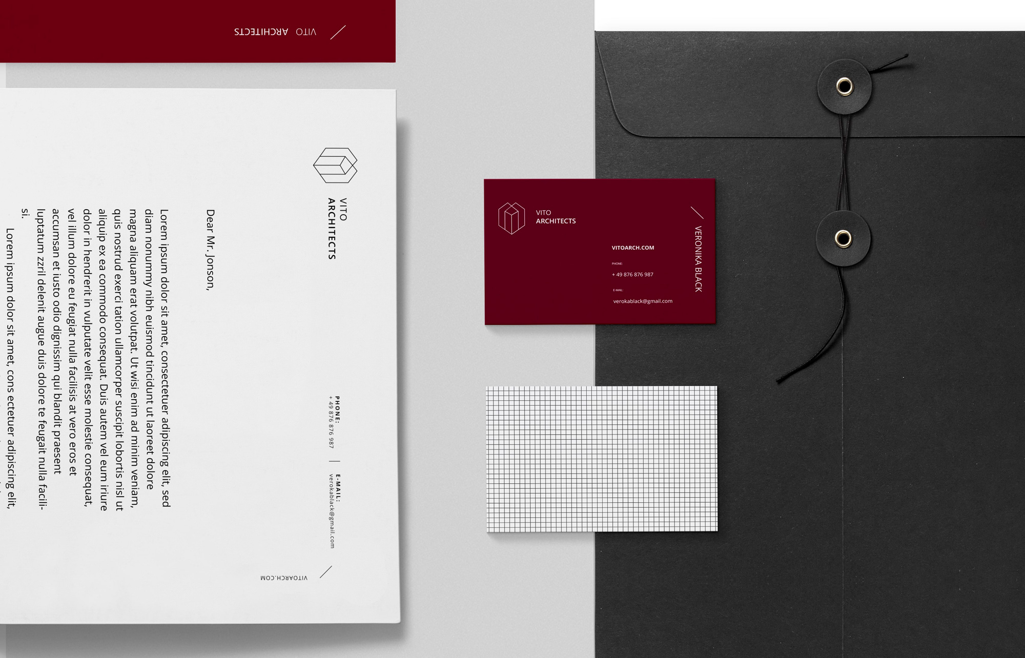 Business Card Design & Brand Development