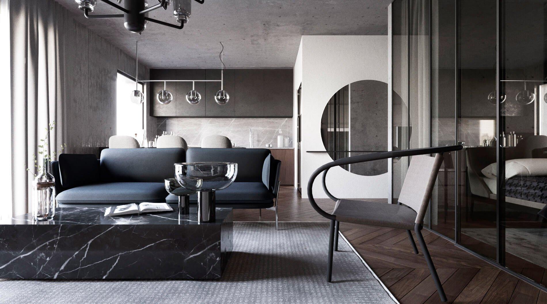Разработка дизайна интерьера квартиры под ключ